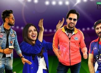 Karachi Kings celebrities psl 2019