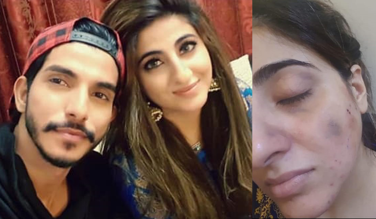 Pakistani actor's wife accuses him of domestic violence