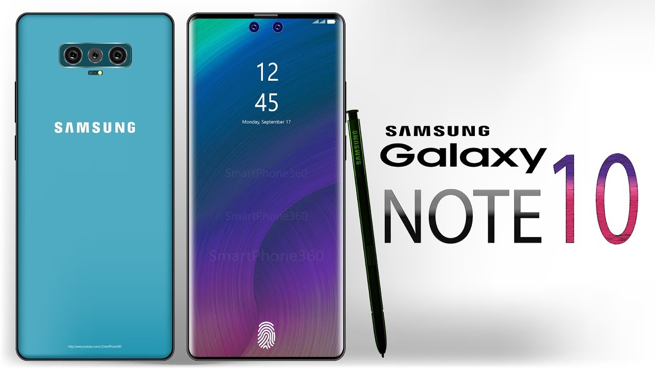 Samsung Galaxy Note 10 Specs Features 2019 Expected