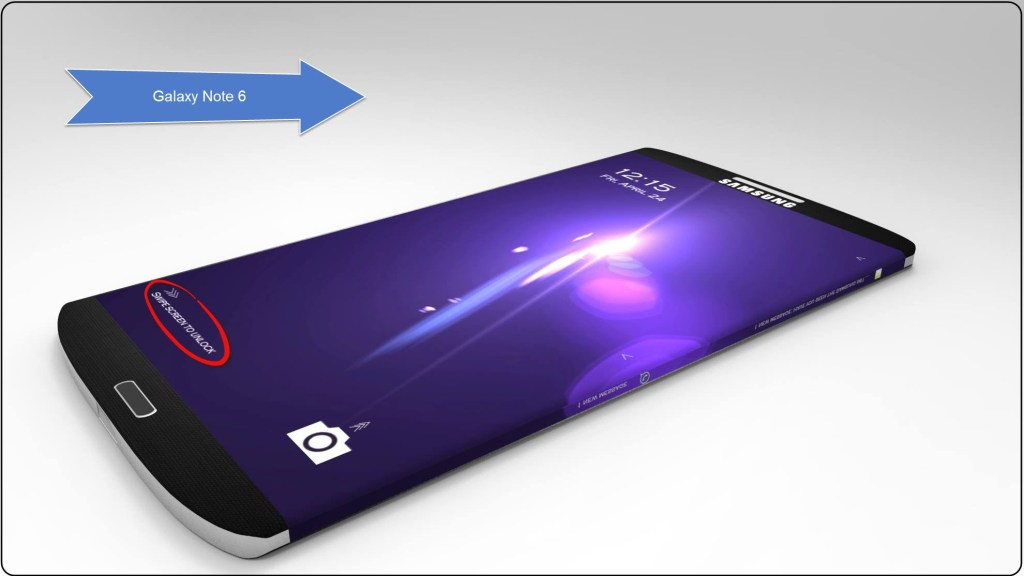 Most Possible Upgrades of Samsung Note 6 - 5.8-Inch Display