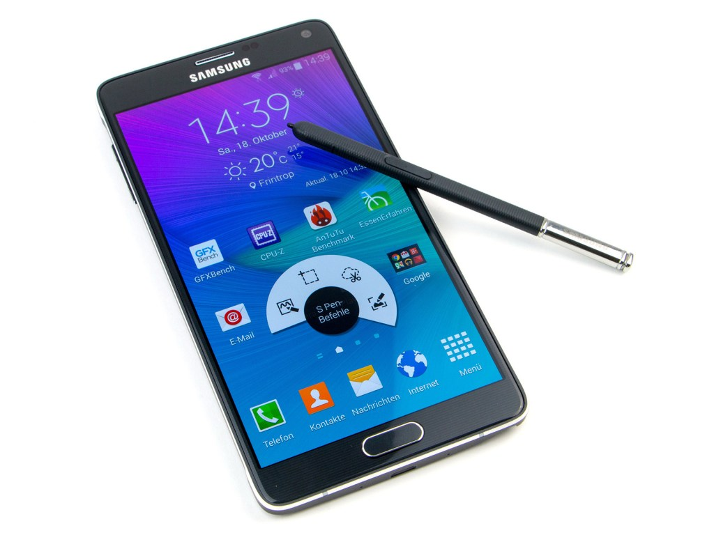Samsung Galaxy Note Reviews - Galaxy Note 4