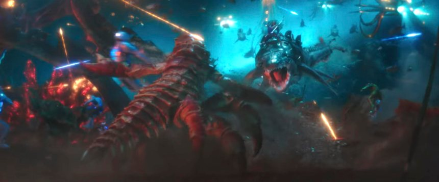 King Orm's forces attack the Brine King