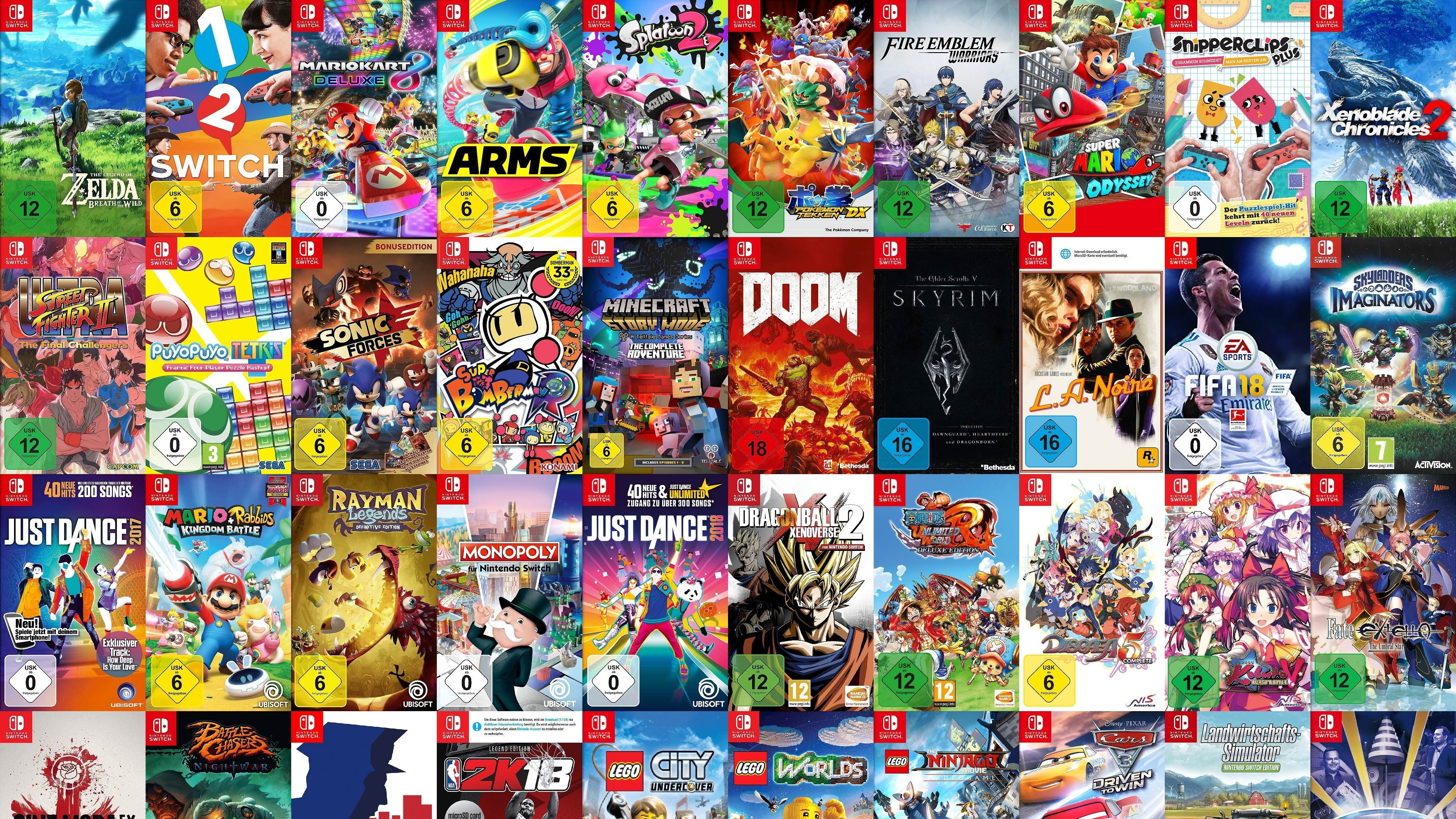 Ten Must Have Switch Games
