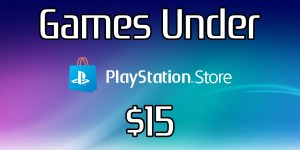 Playstation Games under $15 – 10/30/2020
