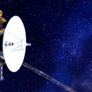 Voyager in space