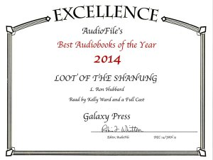 Loot of the Shanung Audiobook of the Year 2014