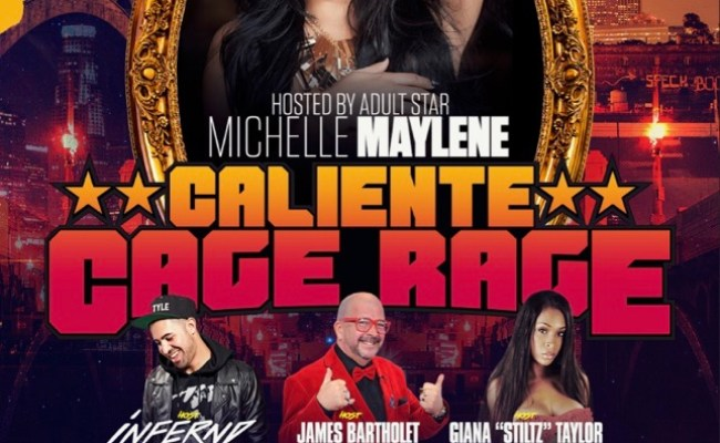 Michelle Maylene At Caliente Cage Rage At Dames N Games