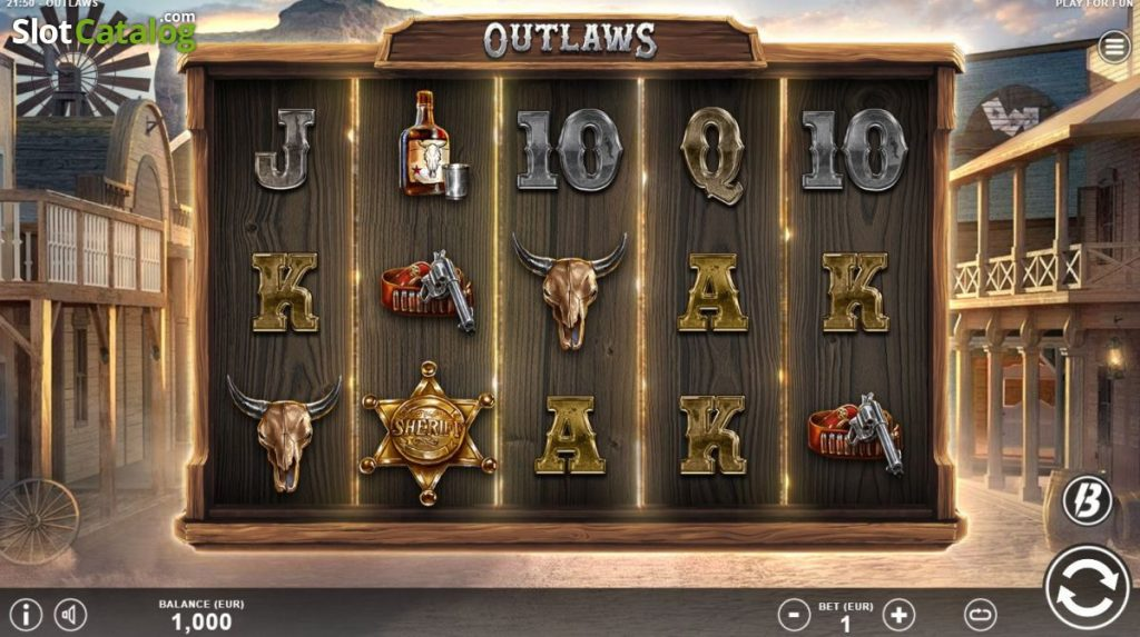 Outlaws Slot