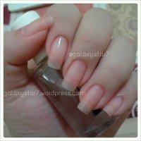 NOTD - Naked Nails