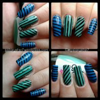 Stripes - March Nail Art Challenge