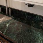 Dark Green Marble Galaxystone
