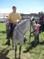 First time I got to kick around on a mule, good solid animal.