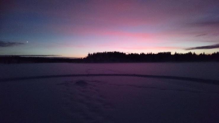 nuortti-auringonlasku