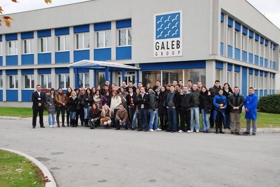 Poseta studenata Tehničkog fakulteta iz Novog Sada