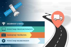 GPS Praćenje vozila može da unapredi vaše poslovanje. Kako?