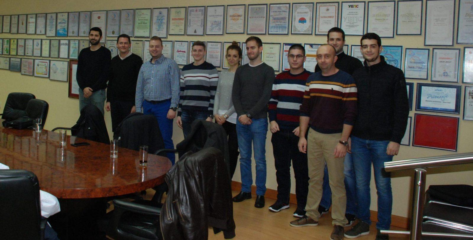 Saradnja kompanije Galeb i Metropolitan fakulteta
