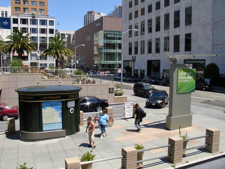 Union Square San Francisco California  Travel Photos by Galen R Frysinger Sheboygan Wisconsin