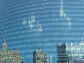 Architectural river tour: Building Reflection