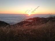 Sunset on Mt. Tamalpais