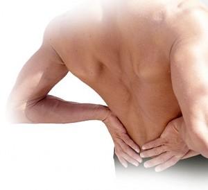 testículo inguinal y dolor de espalda