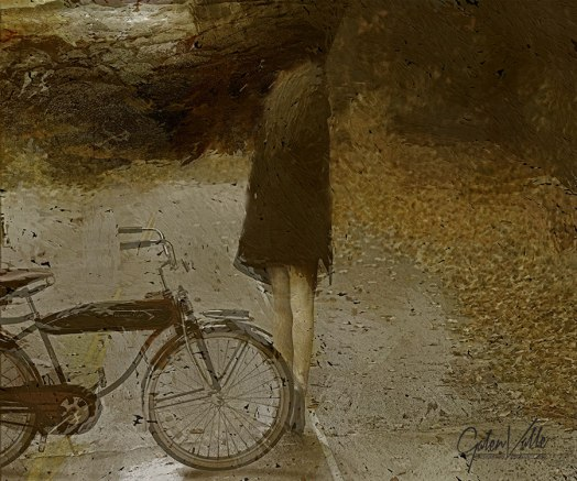 Road Closed - Emotional Expressionism by Galen Valle