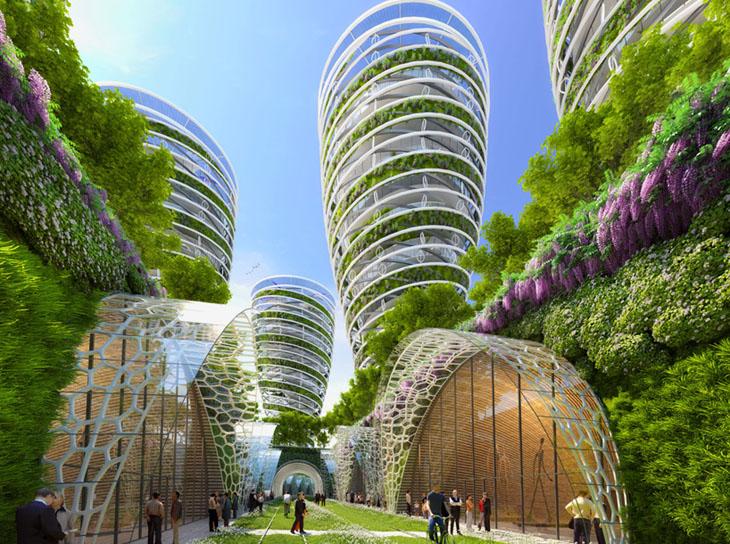 Parisin Geleceini Fantastik Yeil Binalar m Oluturacak