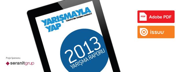 2013 Yarışma Raporu Yayında!