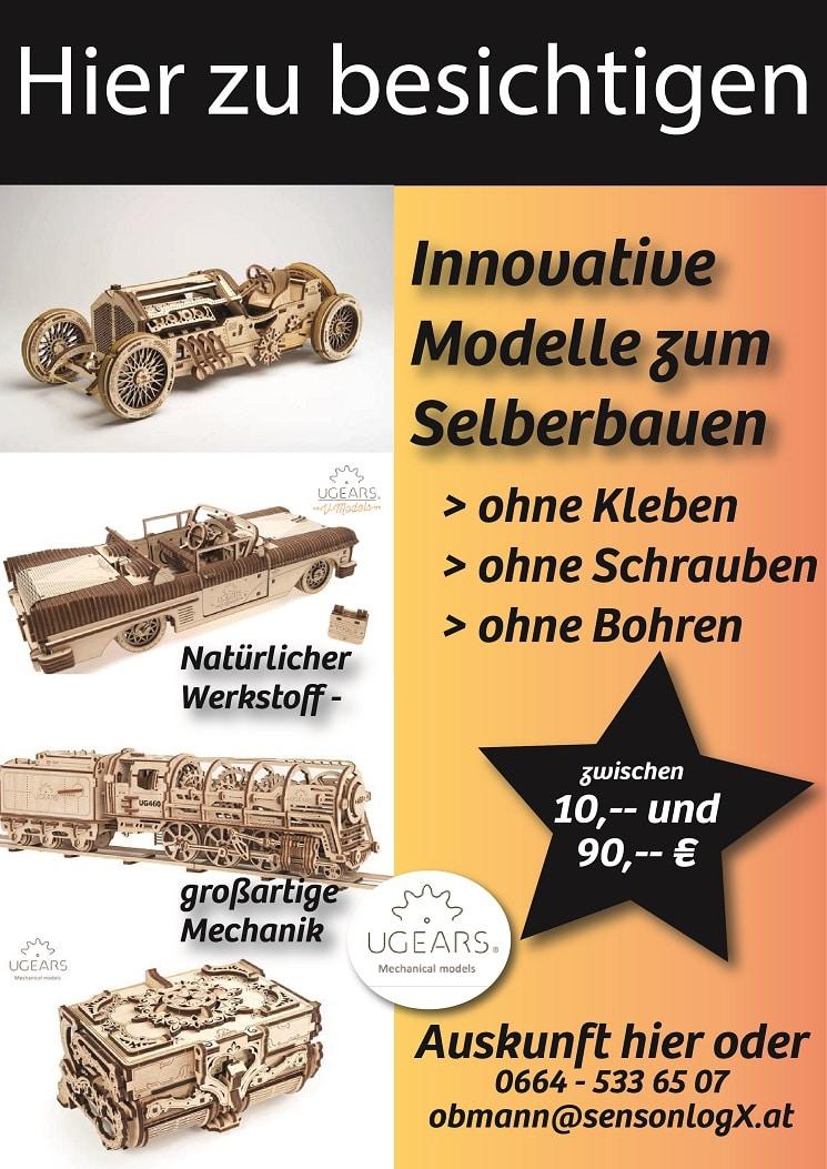 UGEARS Modelle