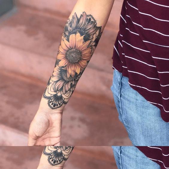 Fotos De Tatuajes Con Girasoles Tatuajes