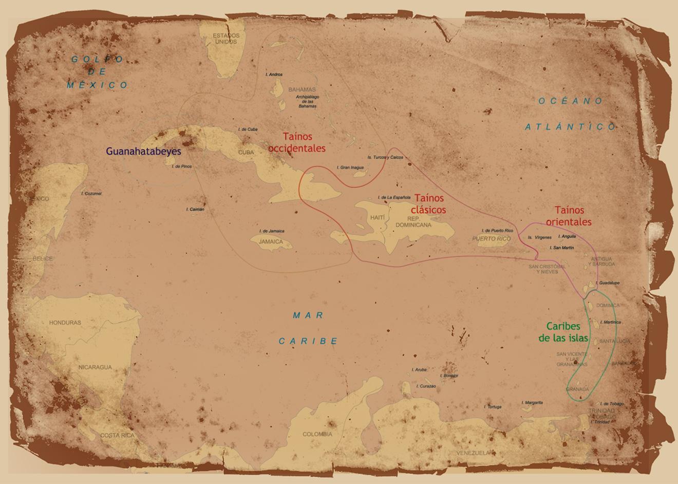 Taino Map