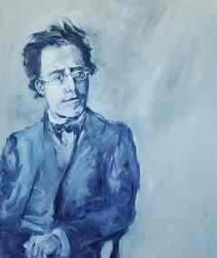 Gustav Mahler,O-L,150x120cms.