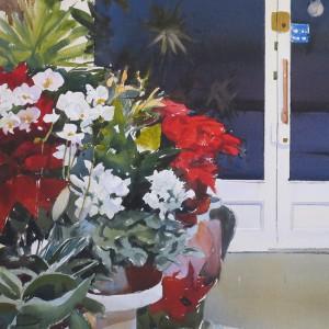 Floristería 65 x 65 cm.2011