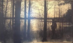 David Morago - Arbol - T. mixta 60x100 cm
