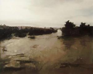 Río y Ciudad, C.61 (81x100)