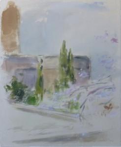Torre en la Alhambra