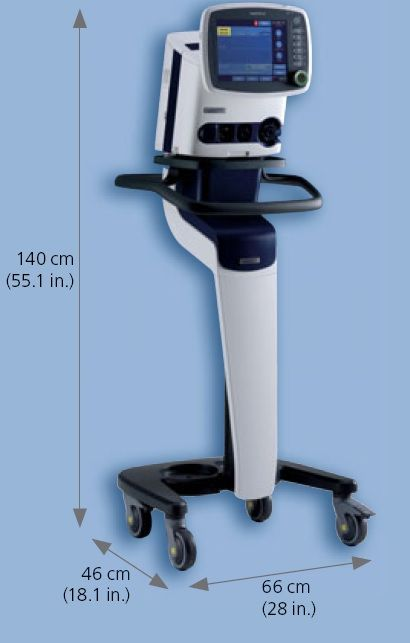 Ventilador Volumtrico Portatil Neonatal modelo Hamilton C