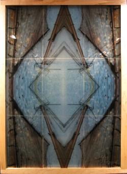 Mayte Espinosa, Schooner No. 3 , 2014, fotografía sobre espejo con marco de madera, 88 x 124 cm