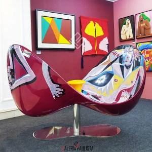 Poltrona Veuve Clicquot Loveseat Karim Rashid Galeria Paulista b