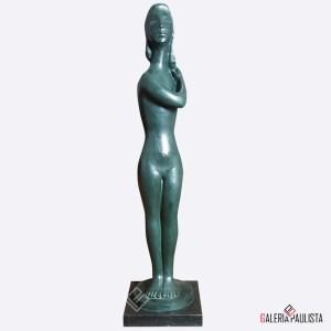 Escultura-Bruno-Giorgi-Nu-Feminino-Bronze-98cm-galeria-paulista-skultura