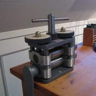 My rolling mill, tada!