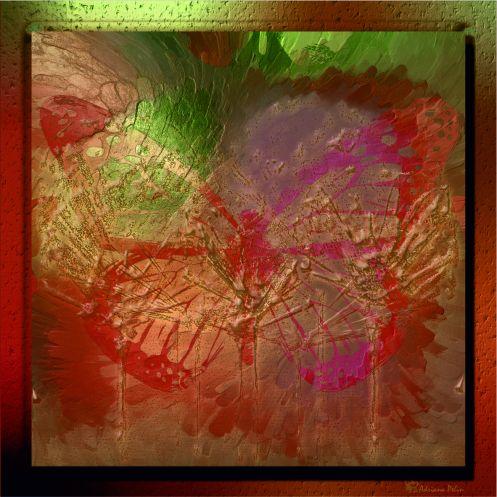 ",,Metamorpohisis"" 40x40 - Grafica Digitala"