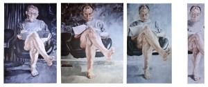 """Composition """"Lesender"""" Bernadett_Wiethoff"""