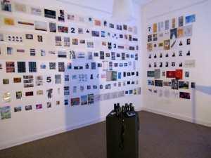 """Blick in die Ausstellung """"TAGWERK 2017"""" von KLAUS WIESEL"""