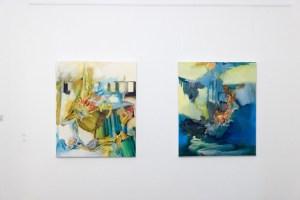 Blick in die Ausstellung in Mülheim Ruhrstr. 3 (Foto: Jörg Dornemann)