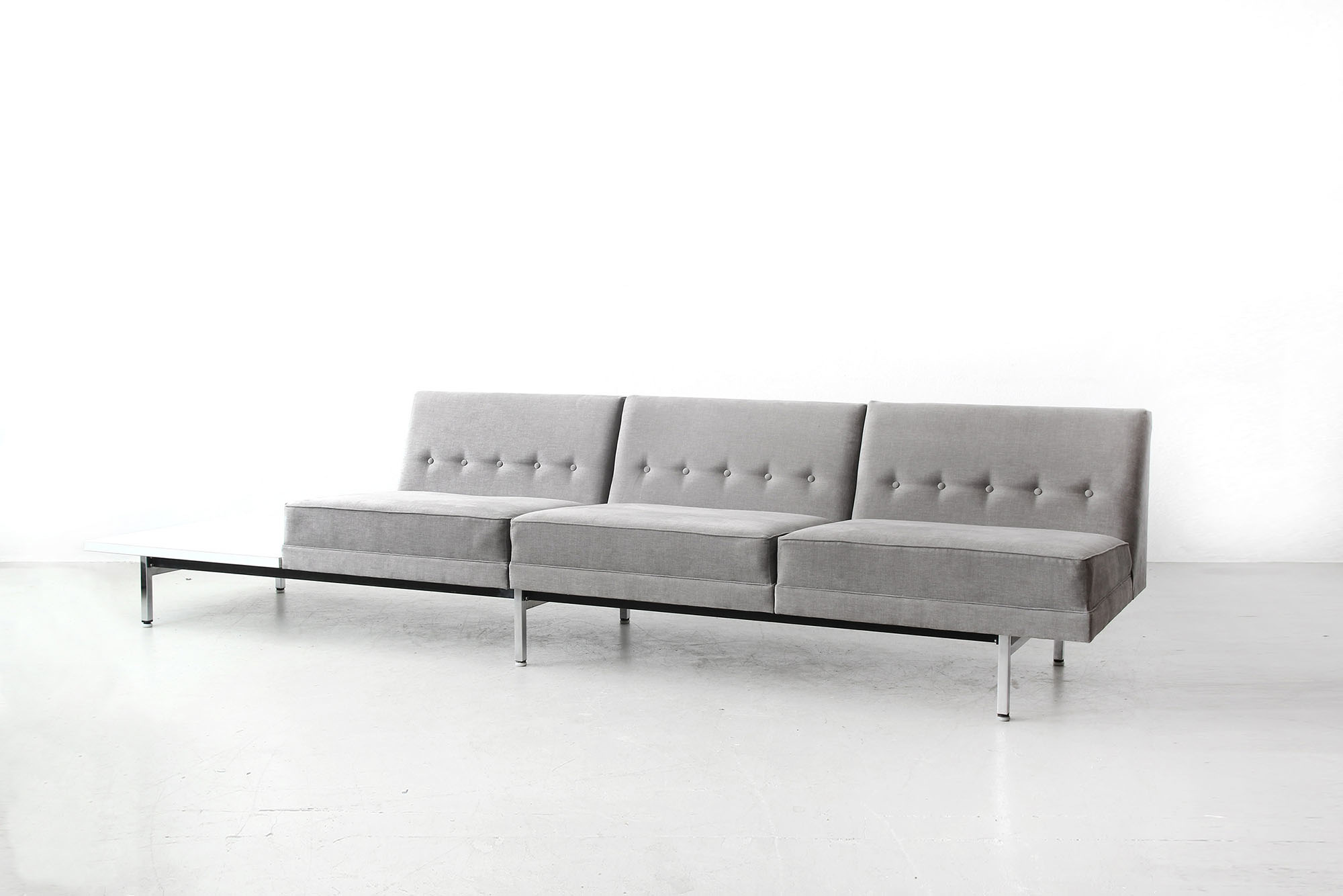 herman miller modular sofa wooden set second hand bangalore george nelson and tables