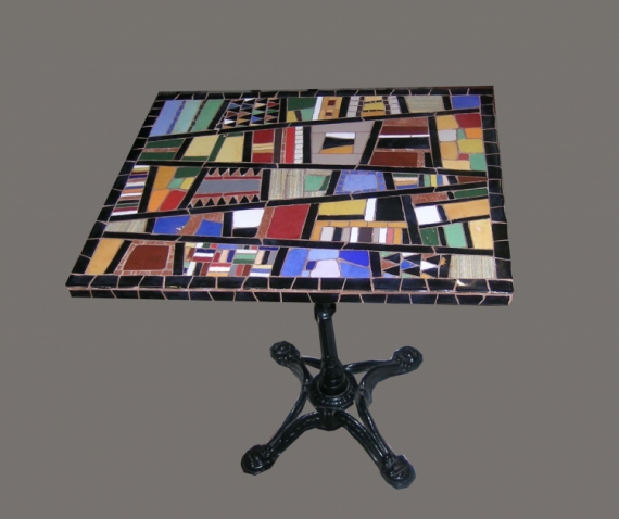 ARTISANAT DART Mosaique Decoration Salon Jardin Table