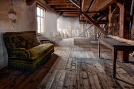 das grüne Sofa