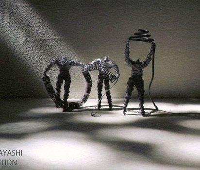 「神林 學 彫刻展」