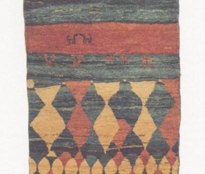 「遊牧民の織物 GABBEHとKILIM」