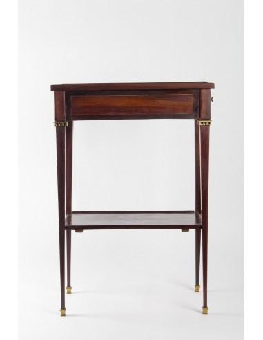 petite table rectangulaire d epoque louis xvi bois de rose et palissandre